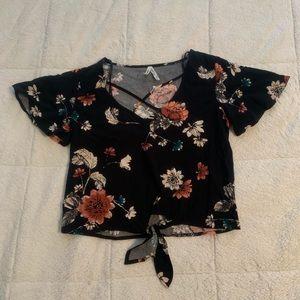 Mudd floral shirt